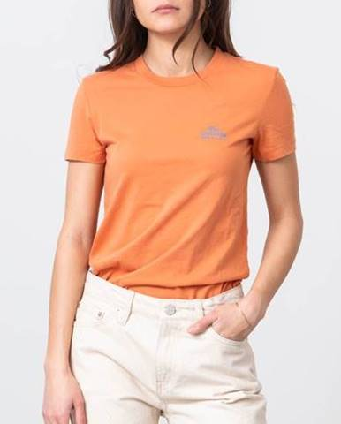 Oranžové tričko WOOD WOOD