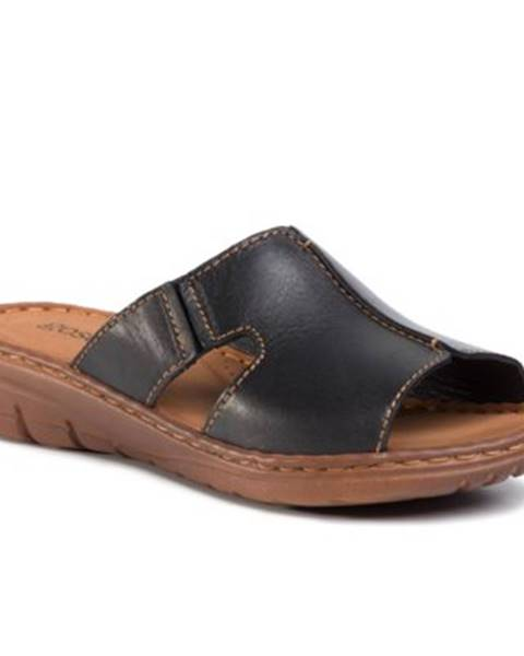 Čierne sandále
