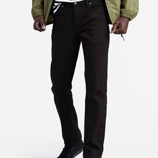 Džínsy Levi's® 511 Slim Fit Nightshine Čierna