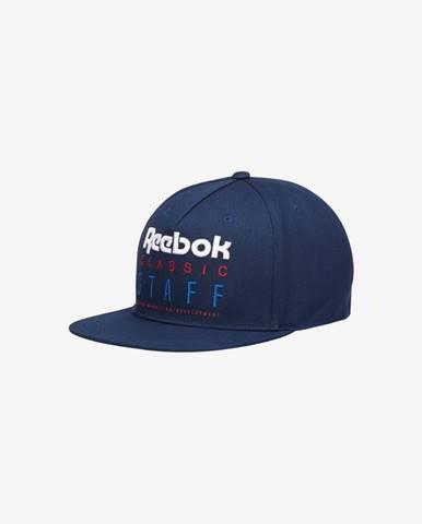 Modrá čiapka Reebok Classic