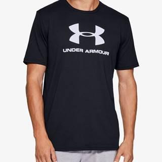 Tričko Under Armour Sportstyle Logo Ss Čierna