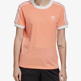 Tričko adidas Originals 3 Str Tee Oranžová