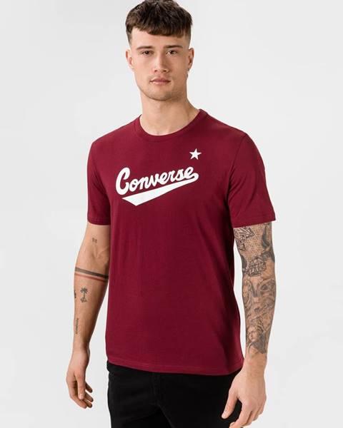 Červené tričko Converse