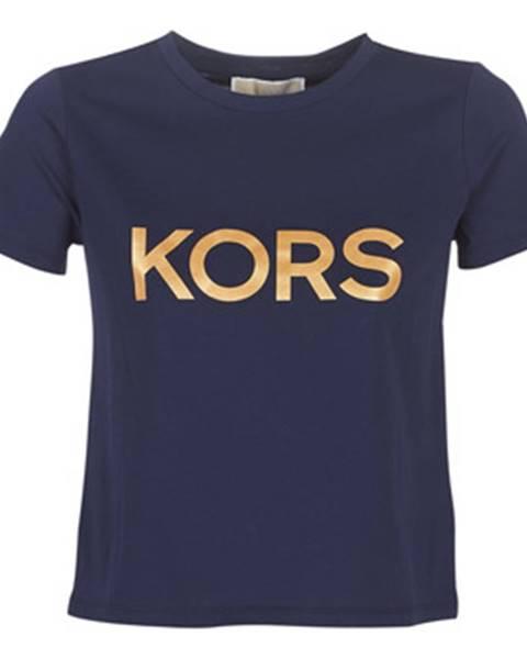 Modré tričko MICHAEL Michael Kors