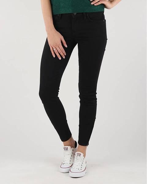 Čierne skinny nohavice Lee