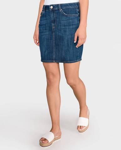 Modrá sukňa Guess