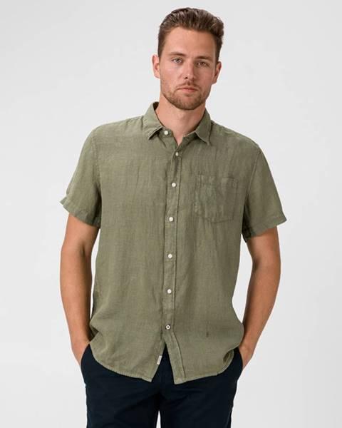Zelená košeľa Pepe jeans