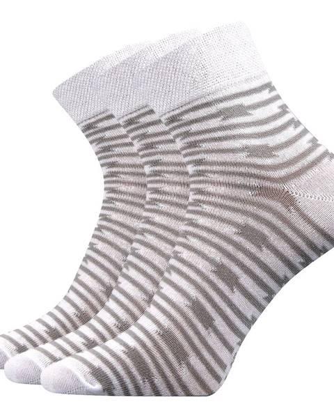 Biele ponožky Boma