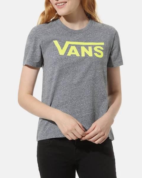 Sivé tričko Vans