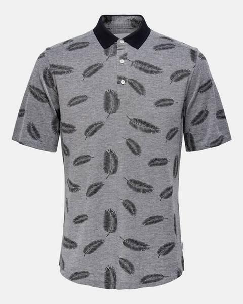 Sivá košeľa ONLY & SONS