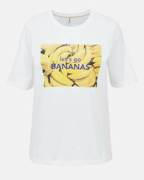 Biele tričko Only