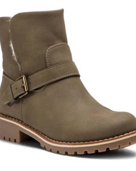 Zelené topánky Clara Barson