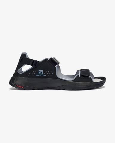 Čierne sandále Salomon