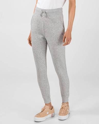 Sivé tepláky Tommy Jeans