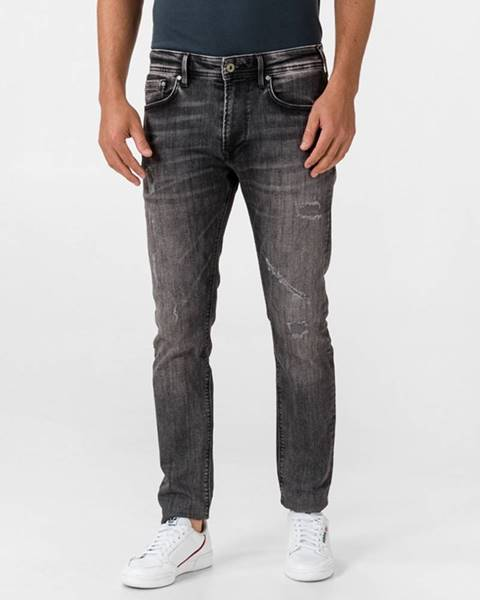 Čierne nohavice Pepe jeans