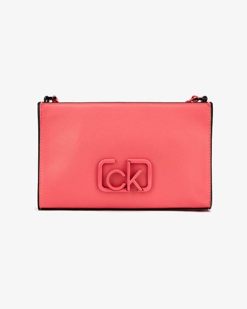 Calvin Klein Calvin Klein Signature Cross body bag Červená