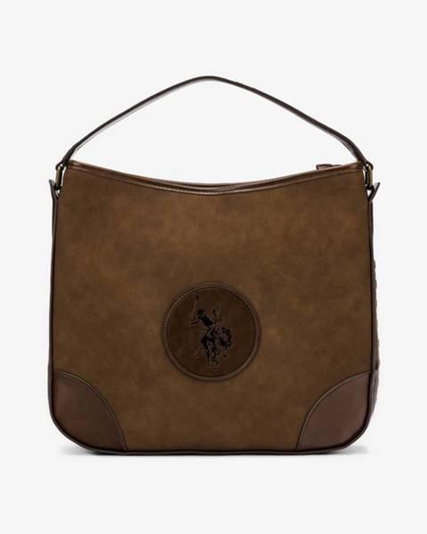 Hnedá kabelka U.S. Polo Assn