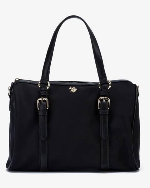 Čierna kabelka U.S. Polo Assn