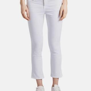 Biele dámske nohavice Tom Tailor