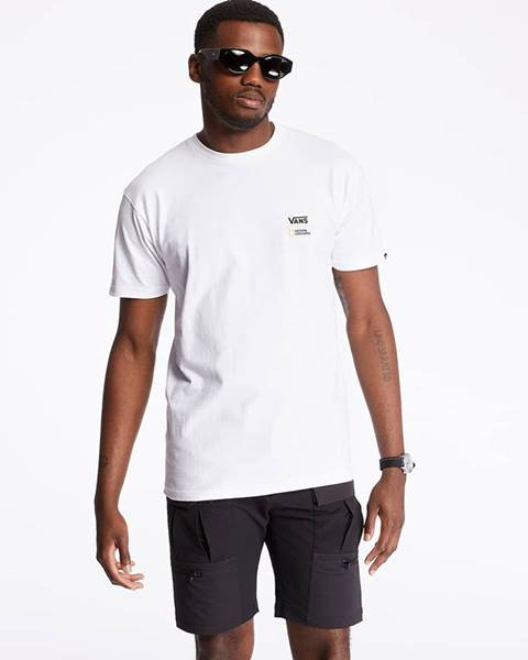 Vans  x National Geographic Tee White