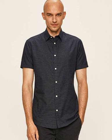 Tmavomodrá košeľa Selected