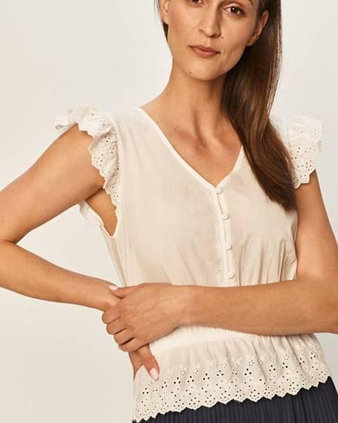 Biela blúzka Jacqueline de Yong