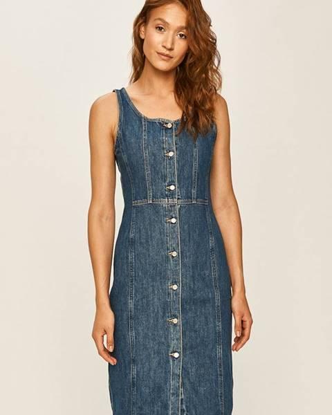 Modré šaty Levi's