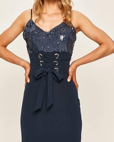 Tmavomodrá sukňa Marciano Guess