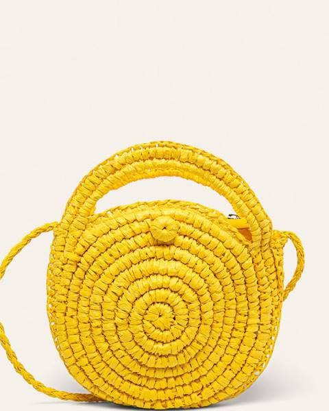 Žltá kabelka Answear