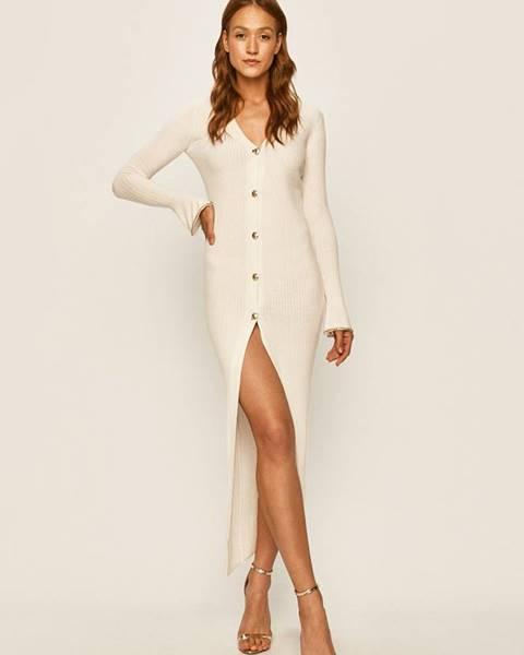 Biele šaty Patrizia Pepe