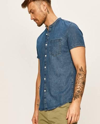 Modrá košeľa Tom Tailor Denim