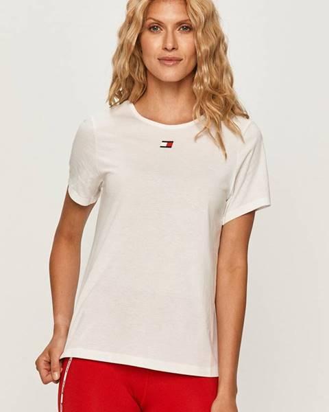 Biele tričko Tommy Sport