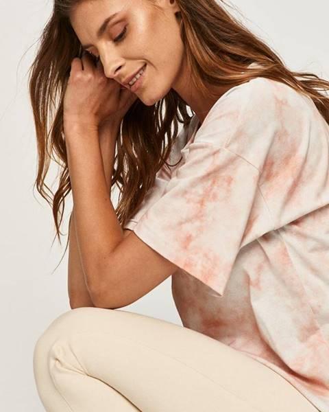 Ružové tričko Answear