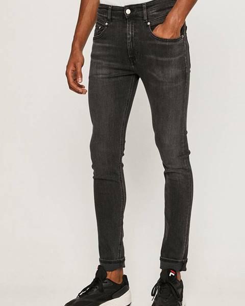 Sivé rifle Calvin Klein Jeans