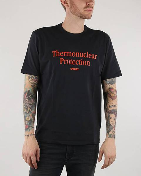 Čierne tričko Oakley