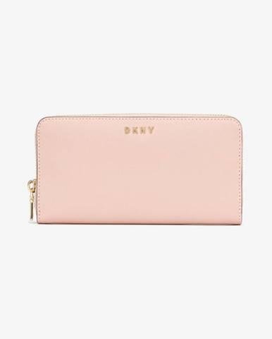 Ružová peňaženka DKNY