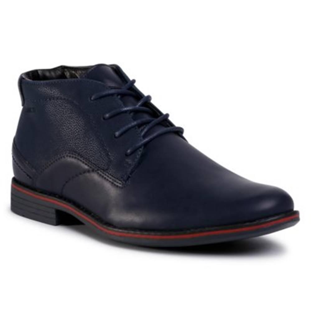 Lanetti Šnurovacia obuv Lanetti M16SS025-21 koža ekologická