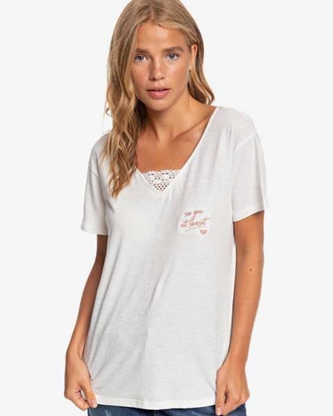 Biele tričko Roxy