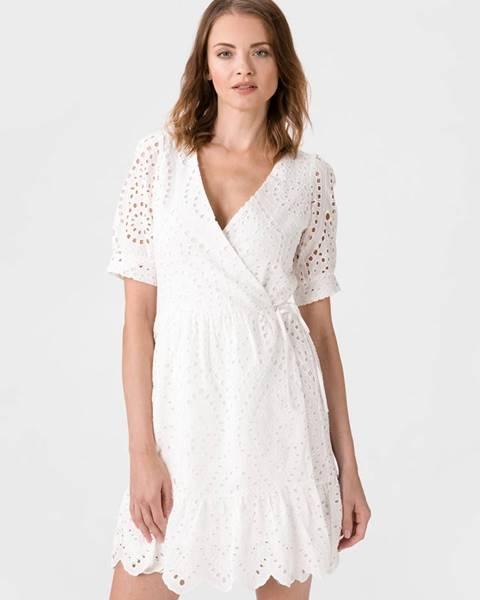 Biele midišaty Vero Moda