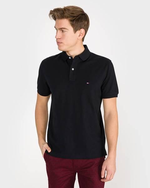 Čierne tričko Tommy Hilfiger