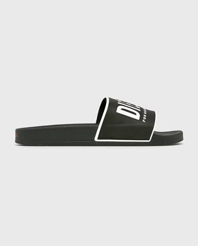 Čierne sandále Diesel