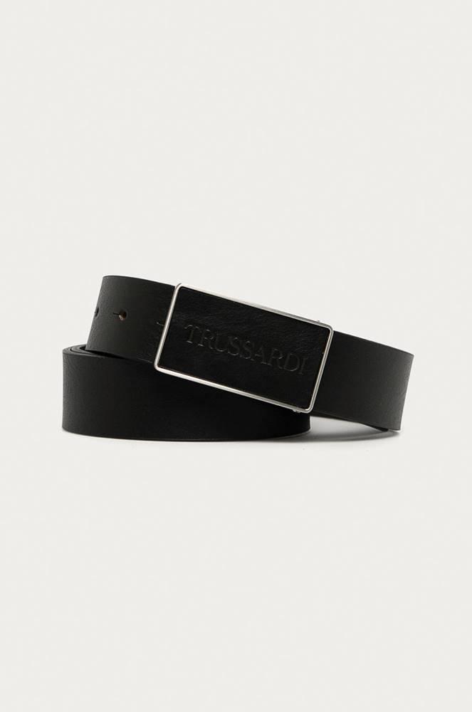Trussardi Jeans Trussardi Jeans - Kožený opasok
