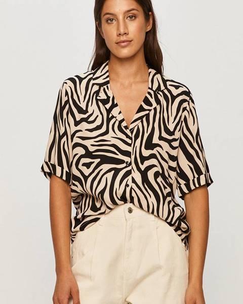 Béžová košeľa Jacqueline de Yong