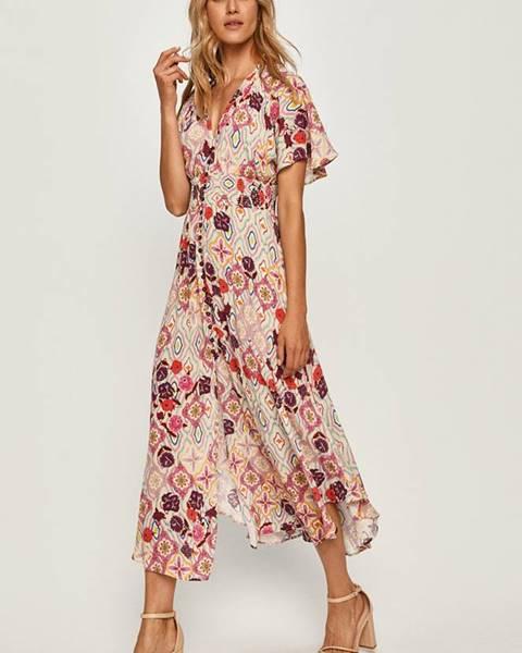 Viacfarebné šaty Pinko