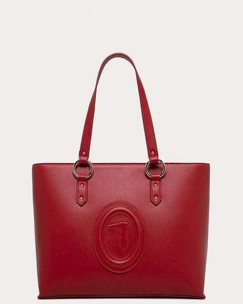 Červená kabelka Trussardi Jeans
