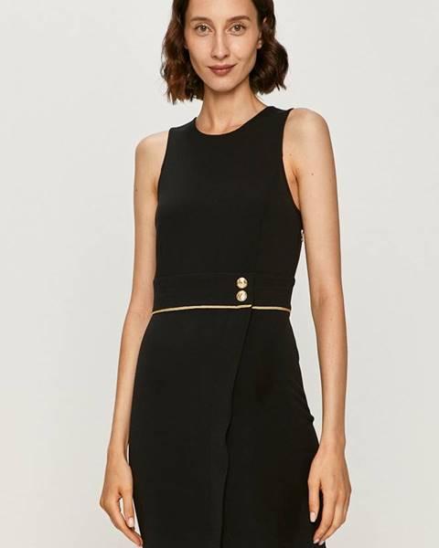 Čierne šaty Patrizia Pepe