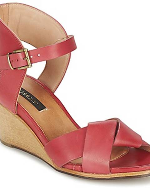 Červené sandále Neosens