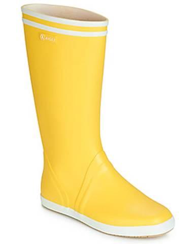 Žlté čižmy Aigle
