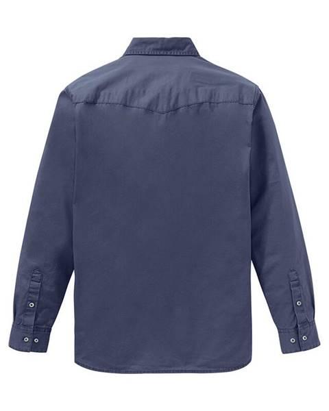 Modrá košeľa bonprix