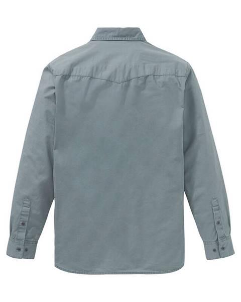 Sivá košeľa bonprix